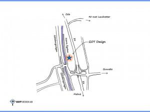 Karta Norra Ågatan 34