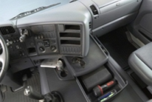 Främre nedre förvaring G-Cab förstasidan